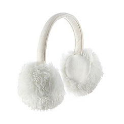 Star by Julien Macdonald - White sparkle ear muffs