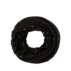 Star by Julien Macdonald - Black cable sequin snood