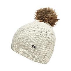 J by Jasper Conran - Cream knitted bobble hat