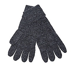 J by Jasper Conran - Grey knitted gloves