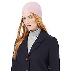 J by Jasper Conran - Pink cashmere hat