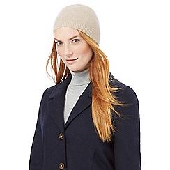 J by Jasper Conran - Camel cashmere hat