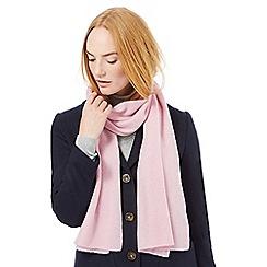 J by Jasper Conran - Pink cashmere scarf