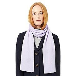 J by Jasper Conran - Purple cashmere scarf