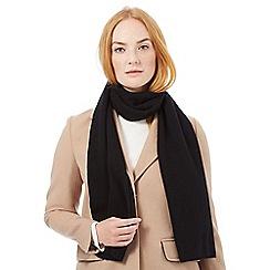 J by Jasper Conran - Black cashmere scarf