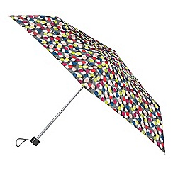 Isotoner - Supermini Multi Dots Scarlet Umbrella