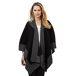 Principles by Ben de Lisi - Grey and black contrast border wrap