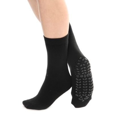 Black originals  slipper socks