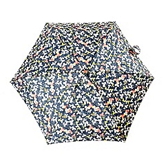 Totes - Dark grey floral umbrella