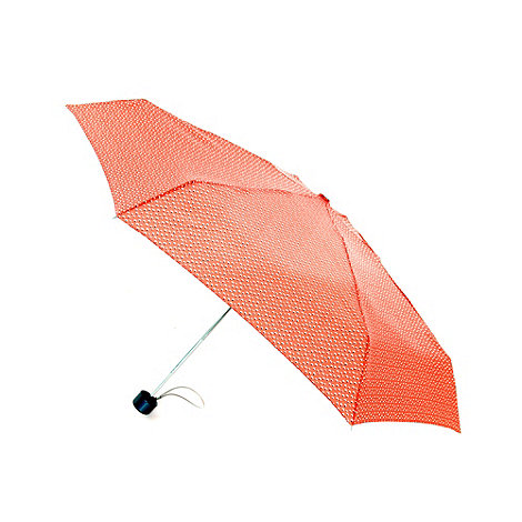 Totes - Coral speckle umbrella