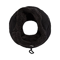 Mantaray - Black fleece snood