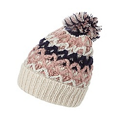 Mantaray - Multi-coloured pom pom hat