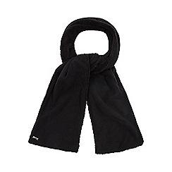 Mantaray - Black fleece scarf