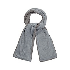 Mantaray - Grey fleece scarf