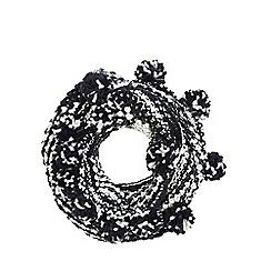 Mantaray - Navy knitted snood