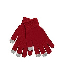 Mantaray - Red magic touch screen gloves