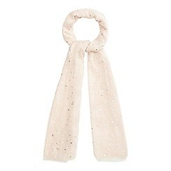 Mantaray - Pink star print scarf
