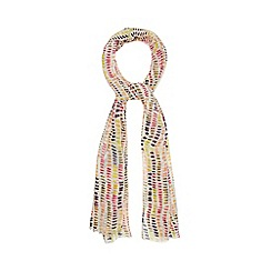 Mantaray - Multi-coloured print scarf