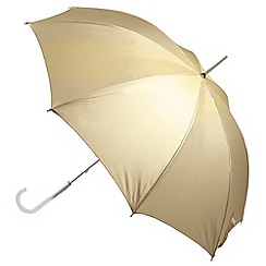 Totes - Gold 'wedding walker' umbrella