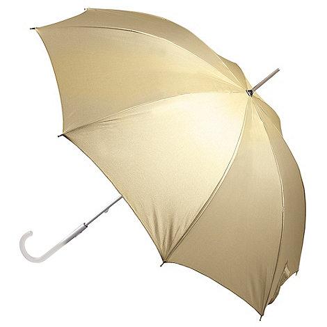 Totes - Gold +wedding walker+ umbrella
