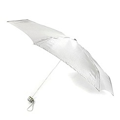Totes - Silver 'wonderlight' umbrella