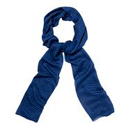 Blue Stud Dotted Scarf