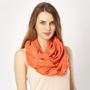 Peach Animal Pom Pom Snood