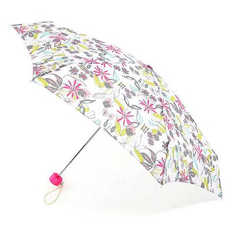 Totes - Pink sketchy floral umbrella