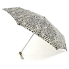 Totes - Brown leopard umbrella