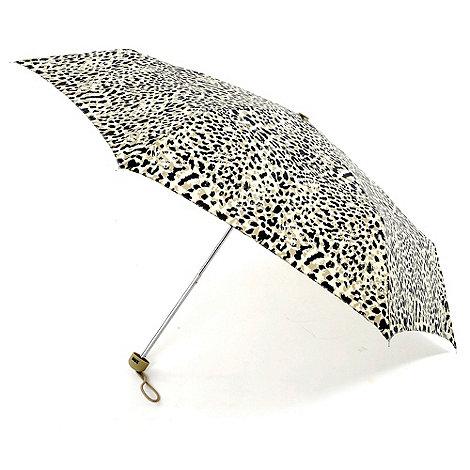 Totes - Brown leopard umbrella