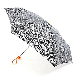 Totes - Navy tribal umbrella