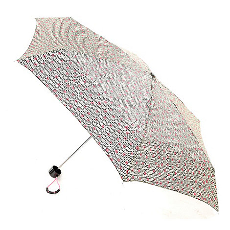 Totes - Multicoloured hooped umbrella