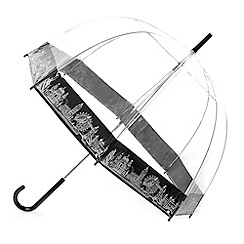 Totes - London skyline pvc dome umbrella