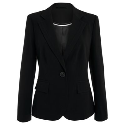 Collection Black embroidered suit jacket product image