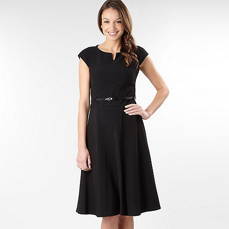The Collection - Black tailored shift dress