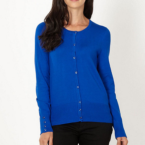 The Collection - Royal blue stretch cardigan