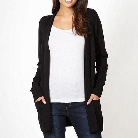 The Collection - Black edge to edge cardigan