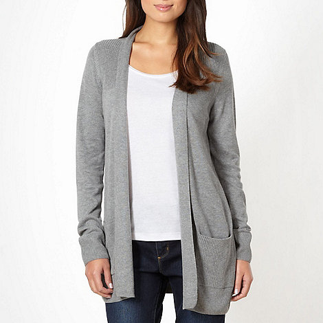 The Collection - Grey edge to edge cardigan