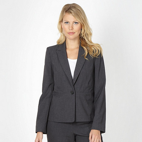 The Collection - Grey stab stitched blazer