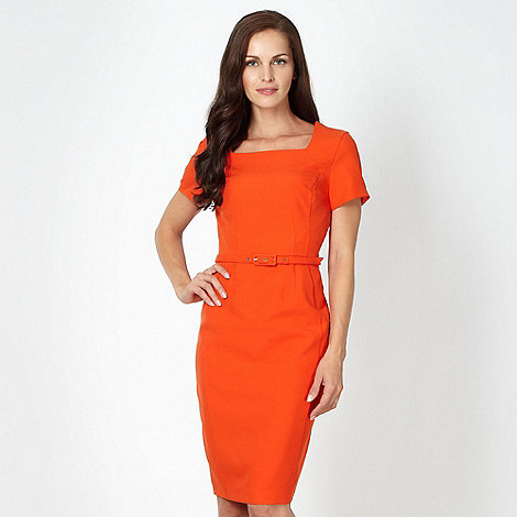 The Collection - Orange work dress