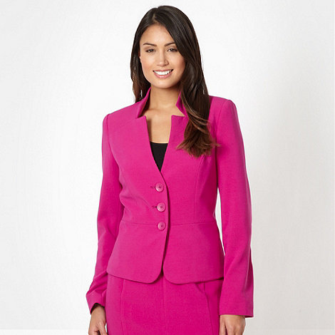 The Collection - Cerise suit jacket