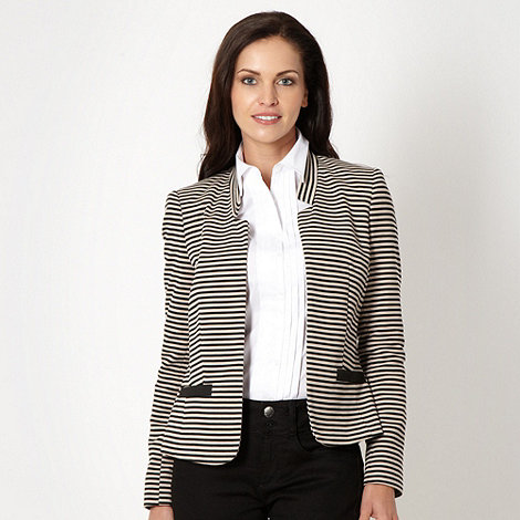 The Collection Petite - Petite camel striped jacket