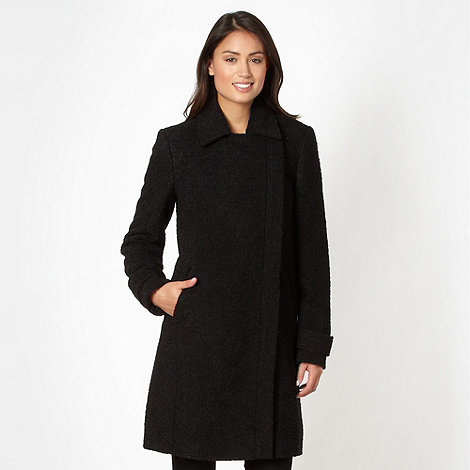 The Collection - Black boucle coat