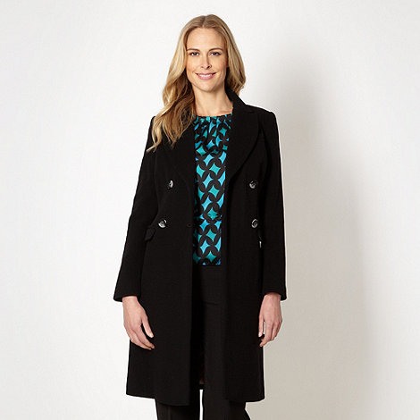The Collection - Black wool blend coat
