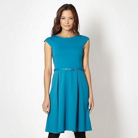 The Collection - Turquoise skater dress