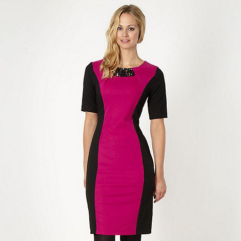 The Collection Petite - Petite pink bodycon dress