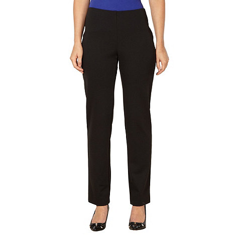 The Collection Petite - Petite black slim fit trousers