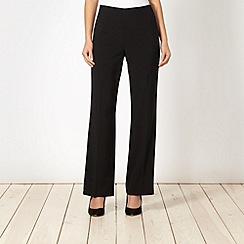 The Collection - Black smart side zip trousers
