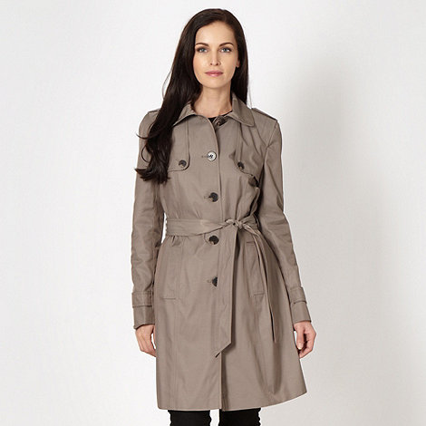 The Collection - Taupe button tab mac