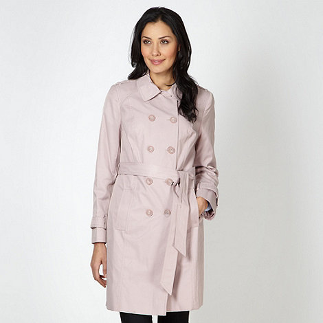 The Collection - Pale pink mac coat
